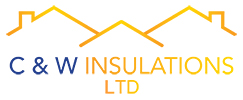 C & W Insulations Sticky Logo